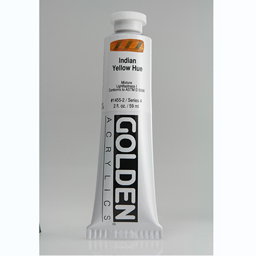 Golden Heavy Body Acrylic Paint 2oz_Indian Yellow Hue