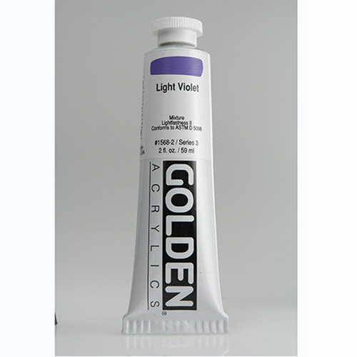 Golden Heavy Body Acrylic Paint 2oz_Light Violet