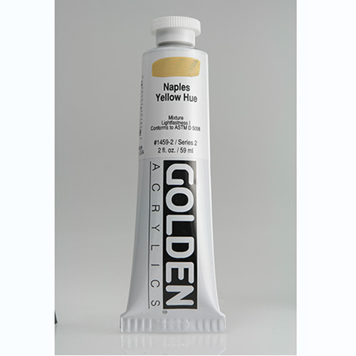 Golden Heavy Body Acrylic Paint 2oz_Naples Yellow Hue