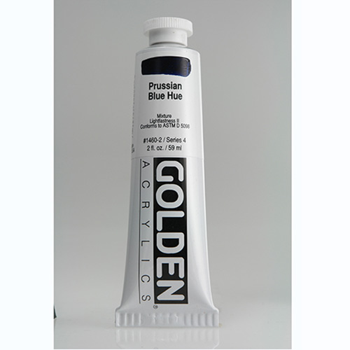 Golden Heavy Body Acrylic Paint 2oz_Prussian Blue Hue