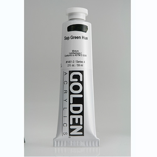 Golden Heavy Body Acrylic Paint 2oz_Sap Green Hue