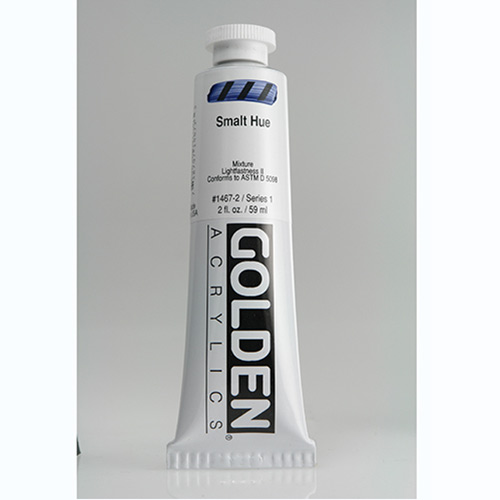 Golden Heavy Body Acrylic Paint 2oz_Smalt Hue