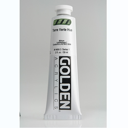 Golden Heavy Body Acrylic Paint 2oz_Terre Vert Hue