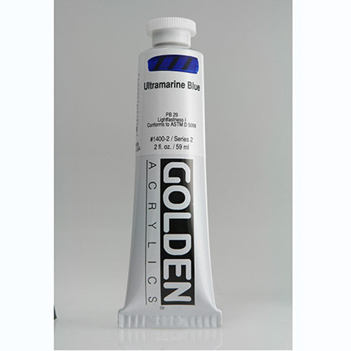 Golden Heavy Body Acrylic Paint 2oz_Ultramarine Blue