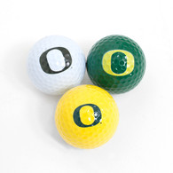 O-logo, Golf Ball, 3-pack