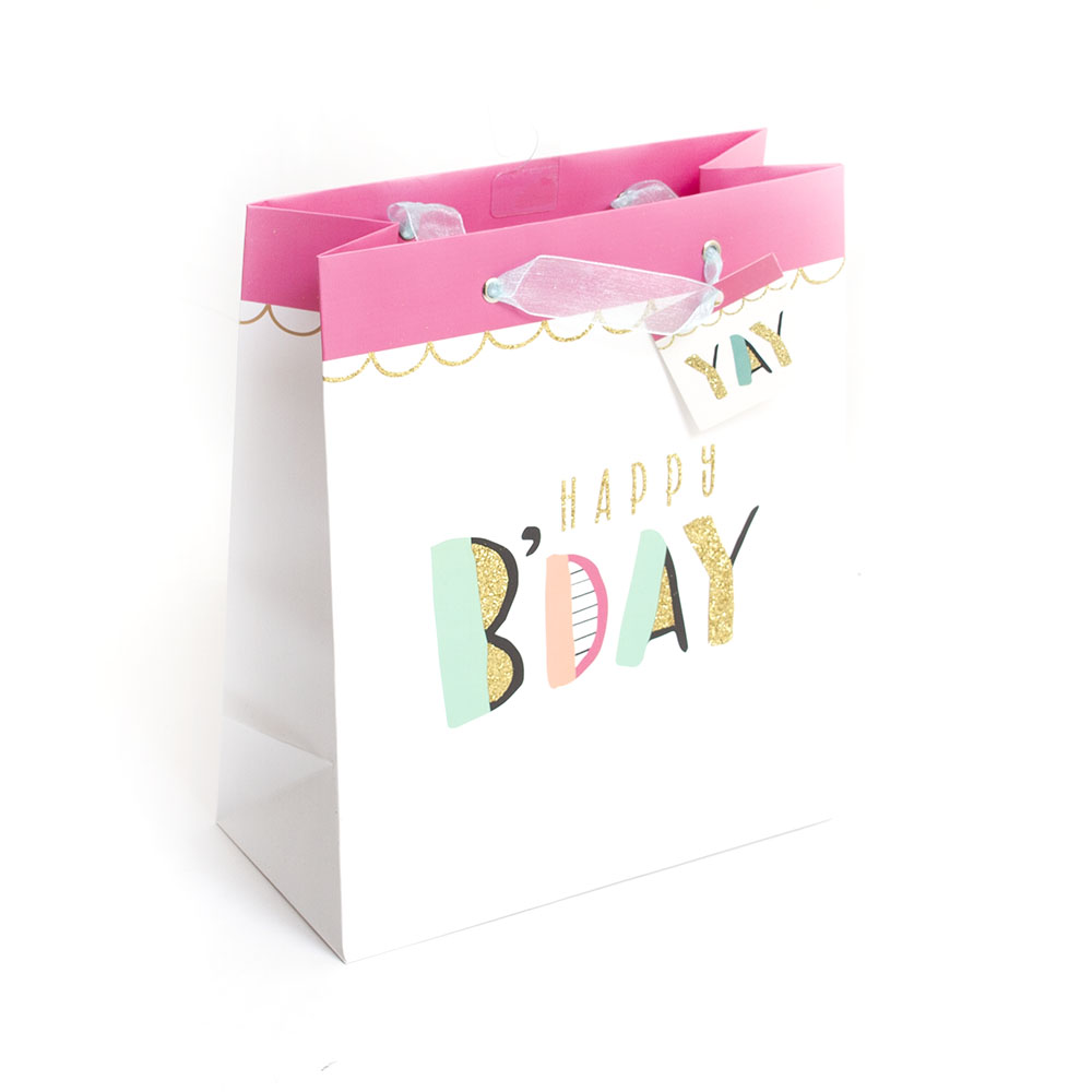 Graphique, Giftbag, Birthday, Scallop