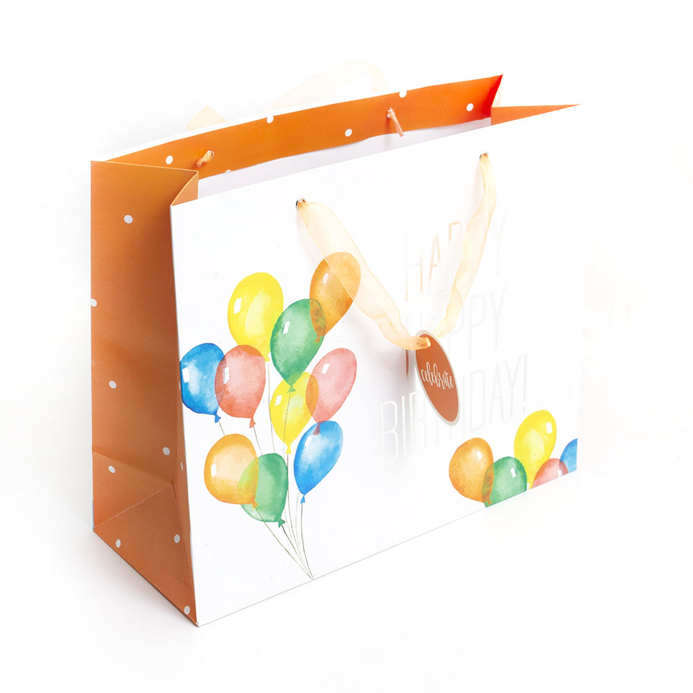 Graphique, Giftbag, Happy Birthday Balloons