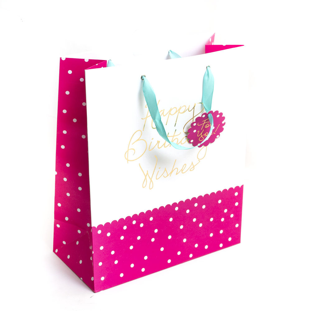 Graphique, Giftbag, Scallop, Dots