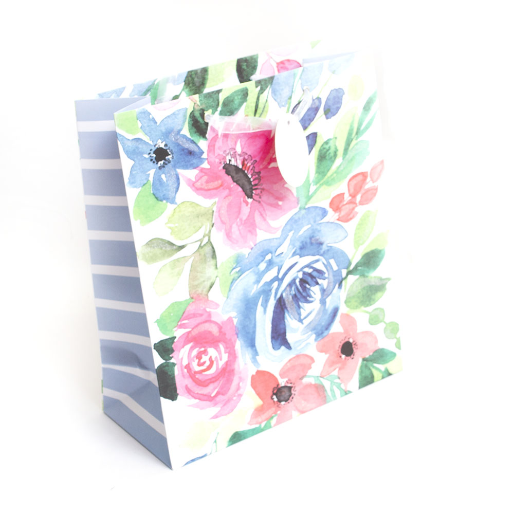 Graphique, Giftbag, Watercolor Floral