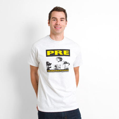 53296f5e Gray Prefontaine T-Shirt