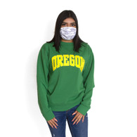 Arched Oregon, Pullover, Crew, Sweatshirt