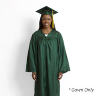 Jostens, Bachelor, Keeper, Gown, Green, Gown Only