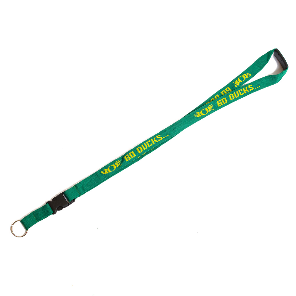 Classic Oregon O, WINGS, Woven, Lanyard