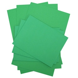 Green Grass Paper Accents Card & Envelope 4.25 x5.5 10pc