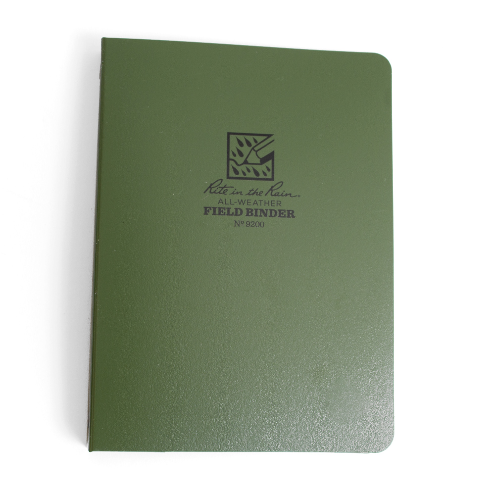 Green Rite in the Rain Binder
