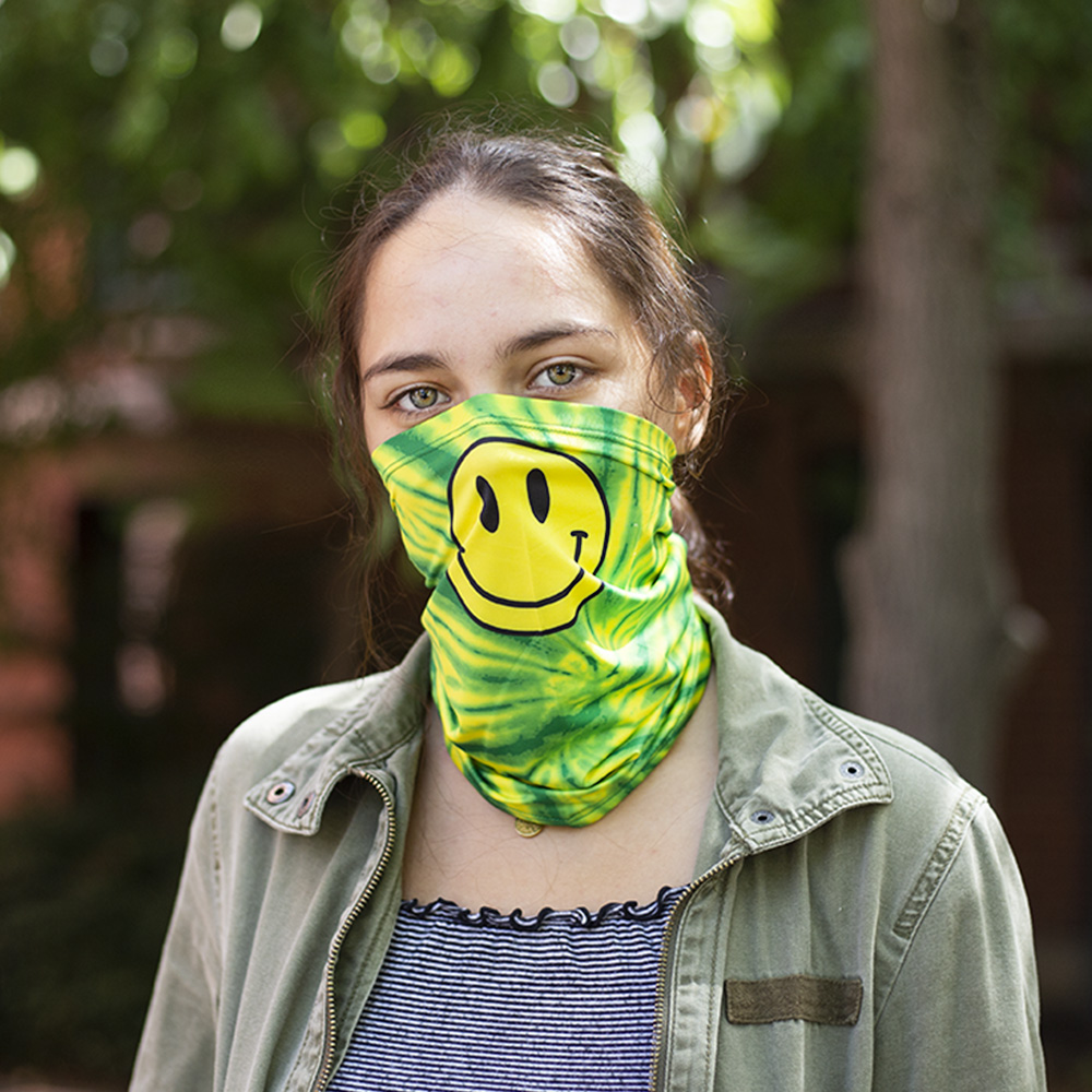 Oregon Colors, Smiley Face, Zoozatz, Scarf, Gaiter