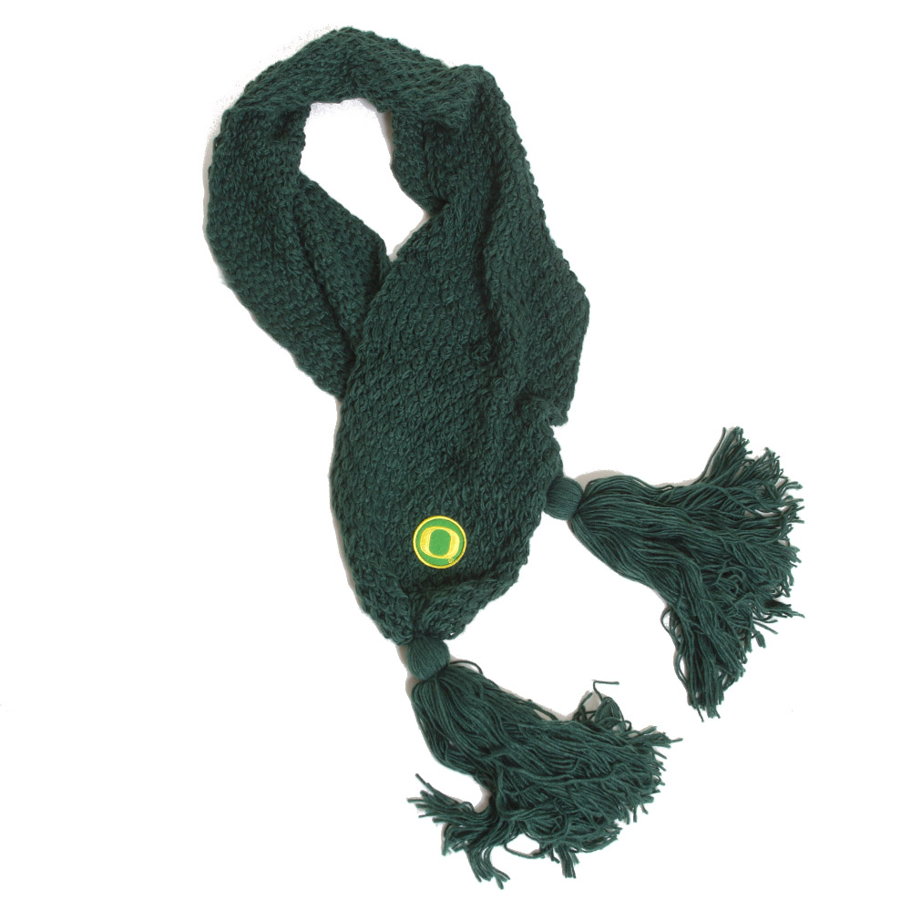 Classic Oregon O, Zoozatz, Bundle Up, Scarf