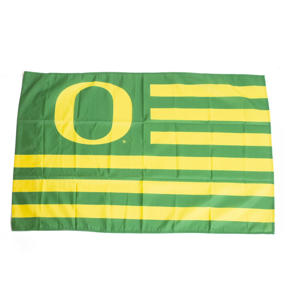 "O-logo, Striped, Banner, 40""x27"""