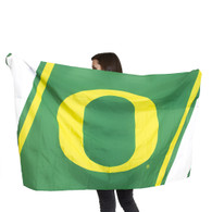 Classic Oregon O logo, Wearable, Body Flag