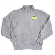 Oregon Dad, Blue84, Cotton, 1/4-zip