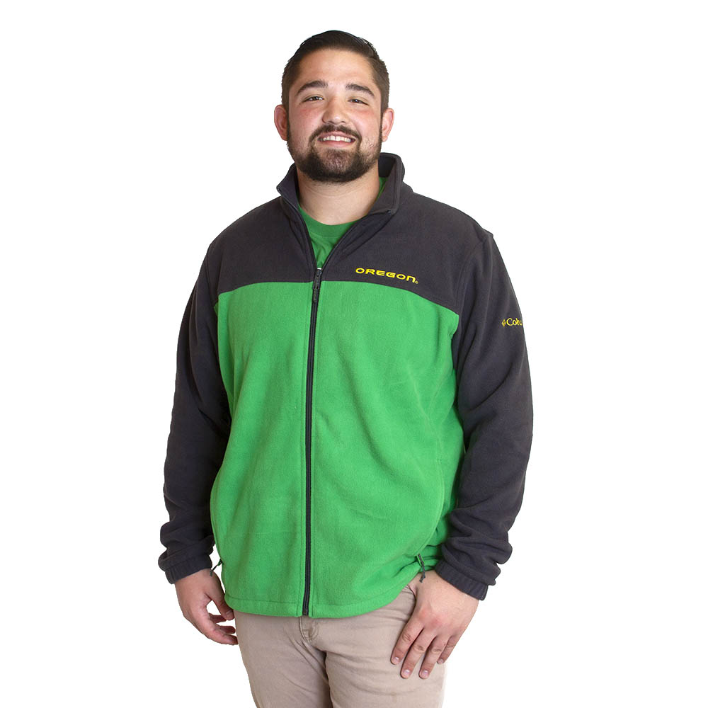 Oregon, Columbia, Flanker III, Full Zip, Fleece