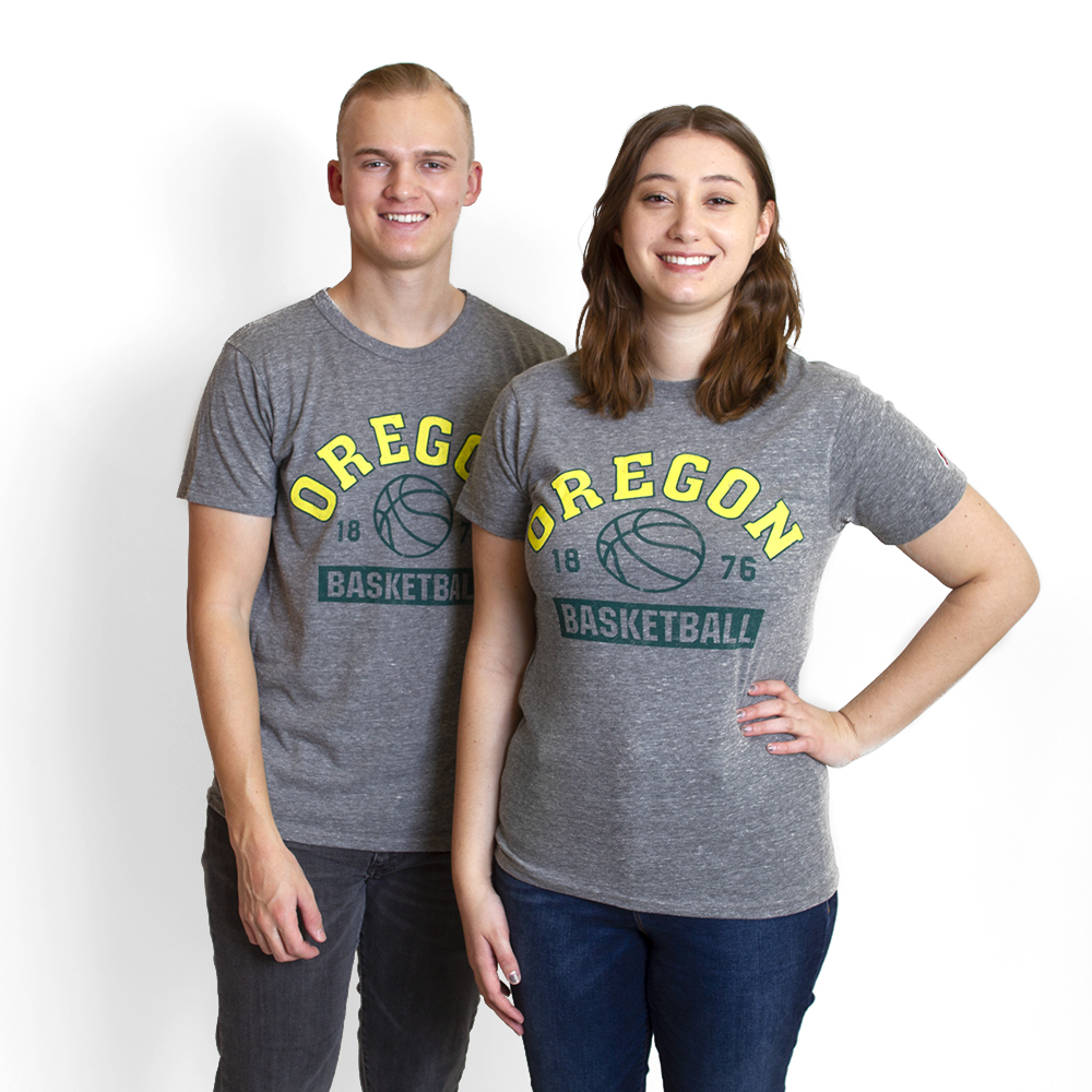 Arched Oregon, 1876, Basketball,Tee