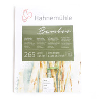 "Hahnemuhle, Naturals, Bamboo, 265gsm, Mixed Media, Block, 11.75""x15.75"""