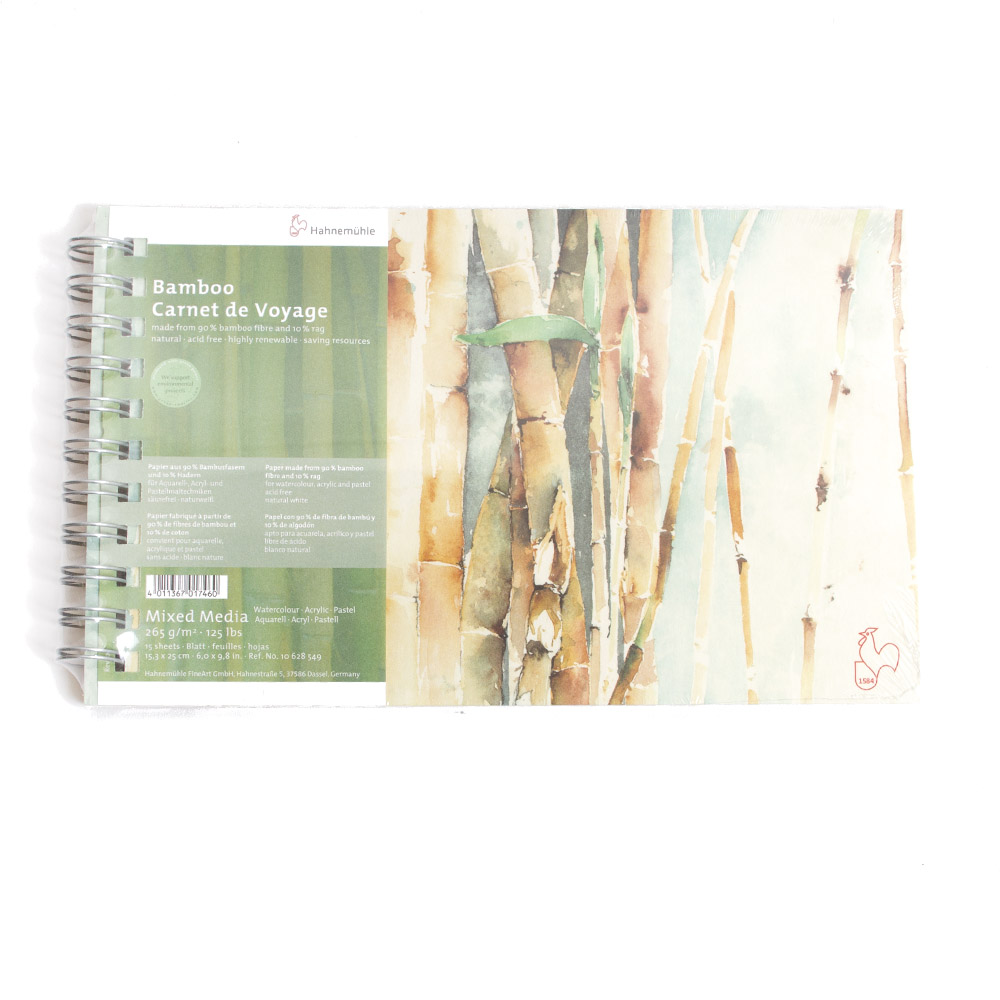 Hahnemuhle, Naturals, Bamboo, 265gsm, Mixed Media, Carnet De Voyage