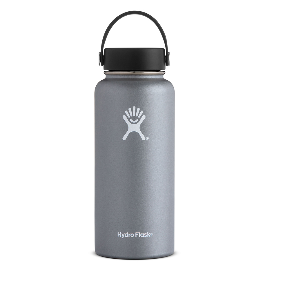 Hydro Flask, 32 Ounce, Insulated, Water Bottle, Graphite