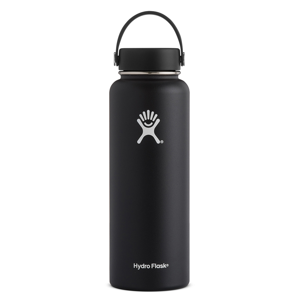 Hydro Flask, Water Bottle, Black