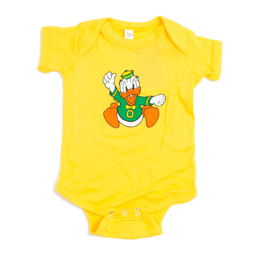 Charging Duck, Onesie, Infant