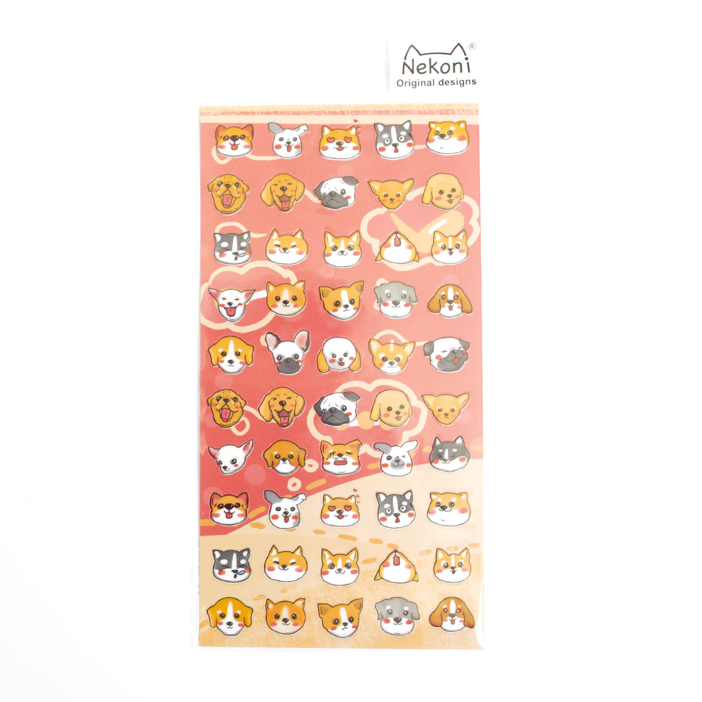 Iwako, Japanese, Stickers, Kawaii, Dog