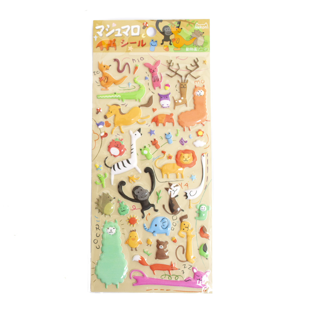 Iwako, Japanese, Stickers, Animal