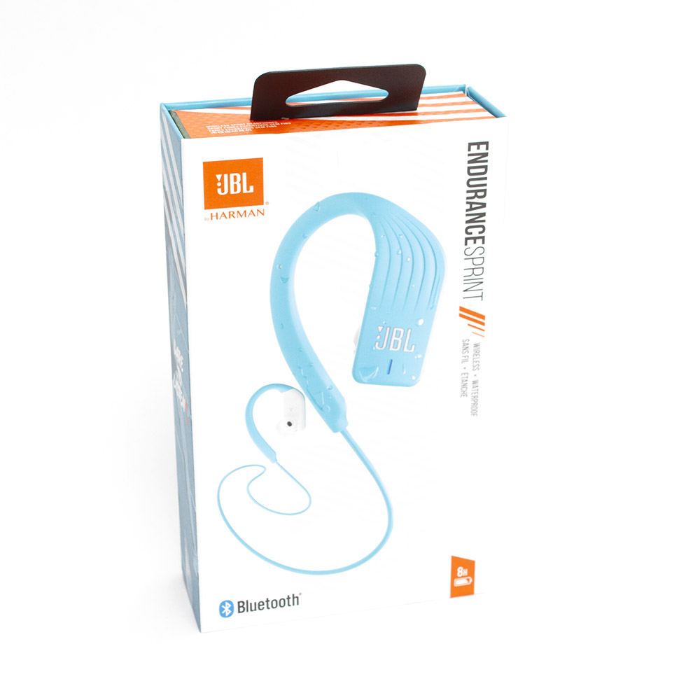 JBL, Endurance Sprint, Headphones, Sports, Bluetooth, Teal
