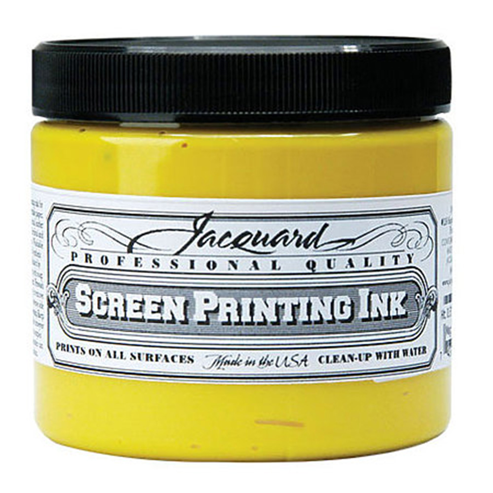 Jacquard, Professional, Screenprint, Ink