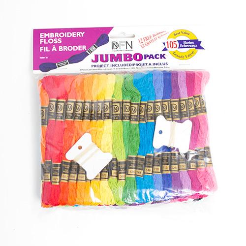 Janlynn Embroidery Floss Pack Jumbo 105pc