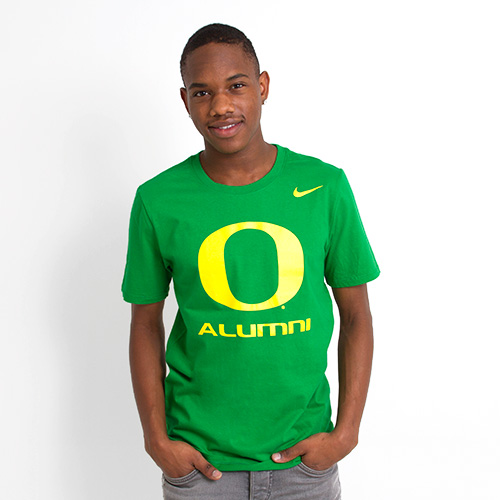 Kelly Green Nike O Alumni Tee