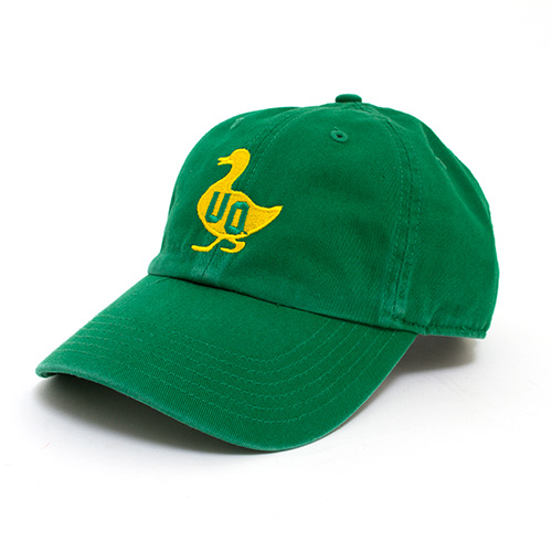 Kelly Green with Yellow Duck UO Adjustable Hat