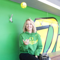 Classic Oregon O, Women in Flight, Nike, Club Fleece, Hoodie