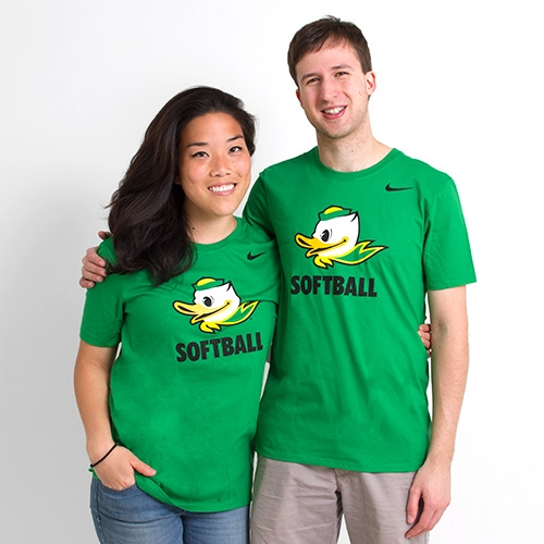Duck Face, Nike, Softball, T-Shirt