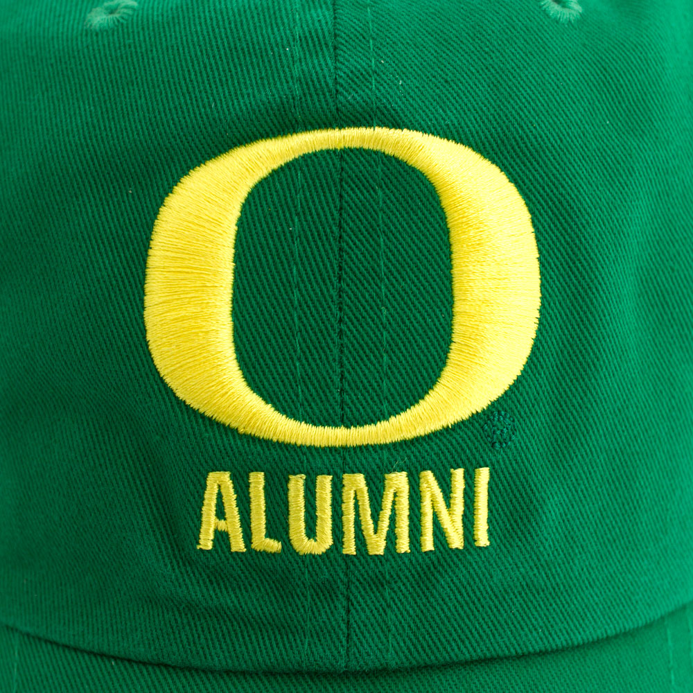 O-logo, Nike Swoosh, Alumni, Embroidered Application, Adjustable, Close-up