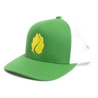 Hop Valley, Kelly Green, Trucker, Adjustable, Hat