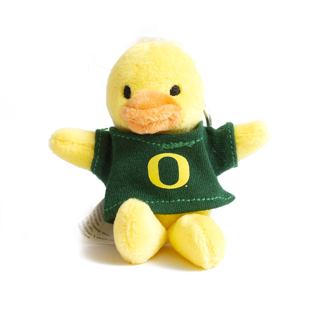 Plush, Yellow, Duck, Keychain