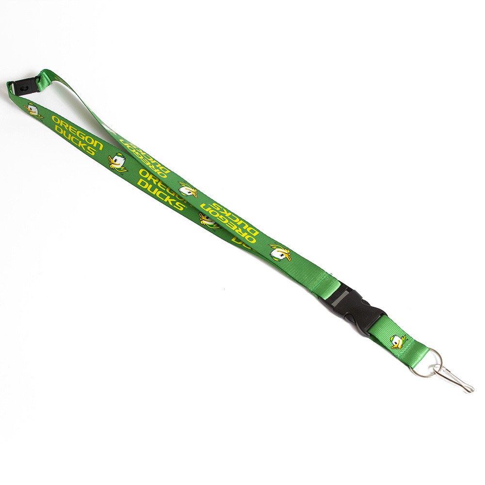 Oregon Ducks, Fighting Duck, Lanyard