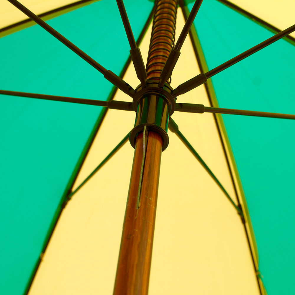 O-logo, Wood Shaft, Umbrella
