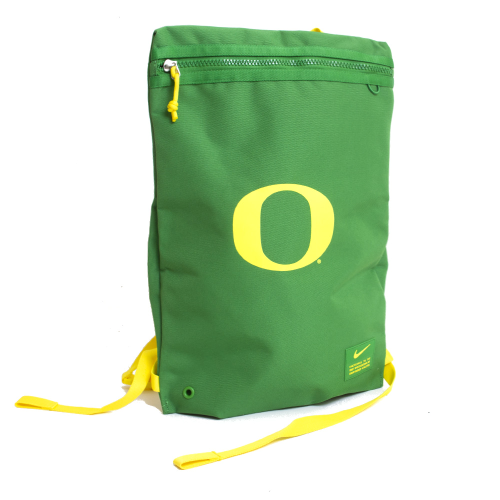 Classic Oregon O, Ducks, Nike, Utility, Gymsack, Bag