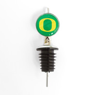 Classic Oregon O, Round, Bottle, Stopper, Pourer
