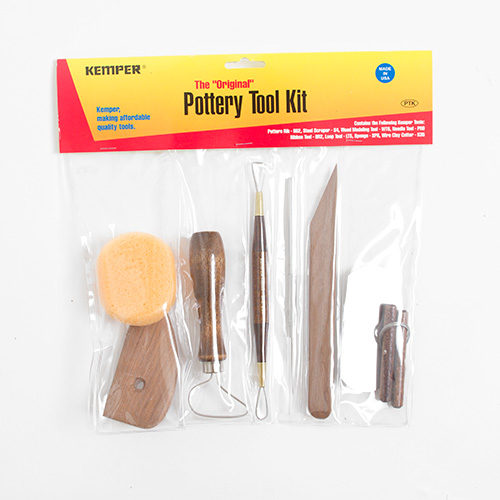 Kemper Tools Pottery 8pc Tool Kit
