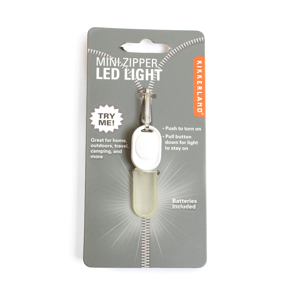 Kikkerland, Zipper Light, LED