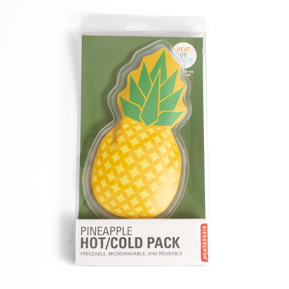 Kikkerland, Hot or Cold Pack, Pineapple